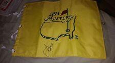 2015 signed Masters pin flag new in packaging Jordan Spieth winner PGA Tour
