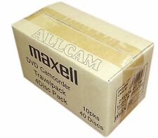 MAXELL mini DVD + RW vuoti riscrivibile media in custodia slim (40 Dischi di 8cm DVD + R..