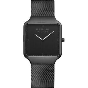 Bering Women's Watch Matte Black 15832-123 RRP £229