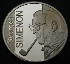 BELGIUM 10 Euro 2003 Proof - Silver - Simenon - 2920