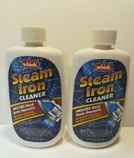Whink Steam Iron Cleaner Unclogs Hard Water Deposits 10 oz Lot Of 2