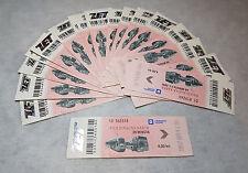 NEW! Tram/Bus tickets - Zagreb - Croatia (ZET) 20 items (used)