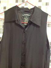 Vestido Negro Seda Ralph Lauren