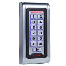 ID Standalone Keypad Access Control & Wiegand 26 Reader Waterproof Metal Case