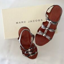 Marc Jacobs Leather Gladiator Sandals Size 37 - Brand New in Box