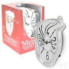 New Salvador Dali Style Melting Clock Novelty Shelf Sitting Official