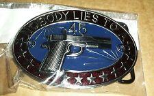 Metal Fire Arm Belt Buckle
