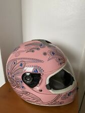 Shark  Motorcycle Motorbike Full Face Helmet  Small Size -  Colourful Pink