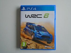 WRC 6 on PS4 in MINT Condition