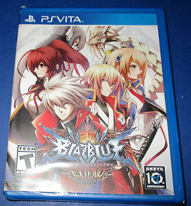 BlazBlue:Chrono Phantasma Extend Sony PlayStation Vita *Factory Sealed!