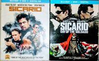 Sicario & Day of the Soldado (Bluray/DVD)