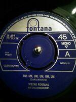 """Wayne Fontana  Um, Um, Um, Um, Um, Um Vinyl 7"""" Single UK TF 497 1964"""