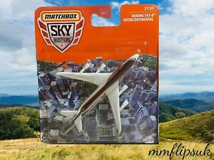 2021 Matchbox Sky Busters 21/31 Boeing 747-8 Intercontinental