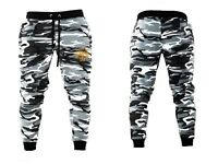Muscle Gym Slim Fit Trousers Tracksuit Bottoms Skinny Joggers Sweat Track Pants