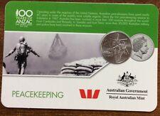 2016 Westpac RAM 20 cent coin - Peacekeeping