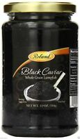12 OZ 340g BLACK LUMPFISH CAVIAR Whole Grain Roe, Free Expedited shipping $ave√