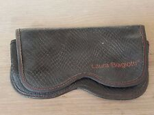 Vintage Laura Biagiotti Case sunglasses (only case) snake skin made in italy
