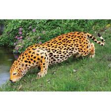 Large Jaguar On the Prowl Garden Statue Sculpture Home Yard Decor