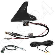 Universal DAB + AM/FM activamente Shark techo antena 12v SMB puerto +5m, cable de antena