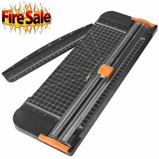 New Listinga4 Paper Cutter Paper Trimmer With Automatic Security Safeguard And Side Ruler