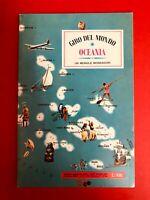 Giro del mondo OCEANIA + 25 figurine da attaccare - Ed. Mondadori 1967