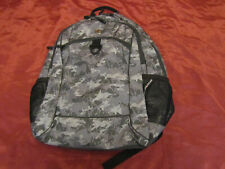 """Swiss Gear 17"""" Laptop USB Padded Airflow Backpack Camo Travel Bag New , no tags"""