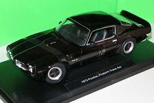 Pontiac Firebird Trans Am in nero 1972 Welly scala 1:18 NUOVO OVP