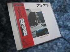 "TOTO RARE JAPAN CD ""FAHRENHEIT"" WITH OBI 28DP 5041"