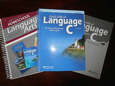 A Beka Book Language C Teacher keys homeschooling 6th grade lot of 3 English