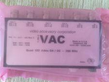 VAC 11-511-125 Composite Video Distribution Amplifiers Rev C