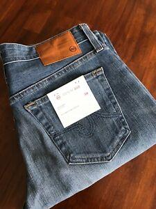 Adriano Goldschmied  The Everett  Slim Straight Jeans  (W30R) $ 225