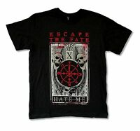 "ESCAPE THE FATE ""HATE ME"" BLACK T SHIRT NEW OFFICIAL ADULT METAL BAND"