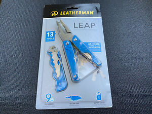 Rare Leatherman LEAP BLUE Multi-Tool Pliers - BRAND NEW DISCONTINUED