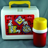 Vtg Disney's 101 Dalmatians Lunch Box with Thermal Made in Taiwan