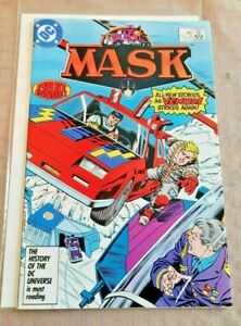 M.A.S.K .#1 NM/NM+ (1985) DC Comics