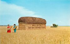 Vintage PC; Giant Loaf of Bread Wheatland Fort Hays Experiment Station, Hays KS