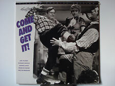 Come & Get It 1936 Laser Disc NEW - Edward Arnold - Joel McCrea - Walter Brennan