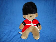 Merrythought Guard Teddy Bear Sitting Position Plush