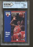 1991-92 Michael Jordan Fleer #29 Gem Mint 10 Chicago Bulls HOF