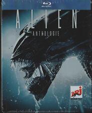 Alien AnthologyTeile 1+2+3+4, Jumbo Steelbook Edition, 4 Blu Ray Box, NEU & OVP