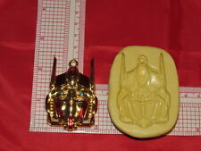 Buddha Mask Silicone Mold  #34 For Jewerly Resin Fimo Soap Candy Candle Craft