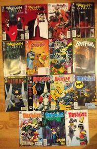Eternal Batman, Batman, Detective, Bat-Mite...set of 15 DC Comics
