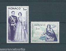 MONACO - 1960 YT 73 à 74 PA - TIMBRES NEUFS** LUXE