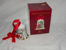 Hutschenreuther Weihnachtsglocke 2006 + Originalkarton - Ole Winter    #2318
