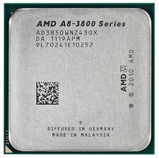 AMD apu a8-3800/fm1 CPU _ lliano/Radeon HD 6550d _ 2.7ghz Turbo