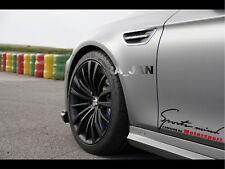 Sports mind Motorsport Decal Sticker sport car racing door logo auto emblem 2pcs