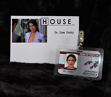 """TV SERIES HOUSE MD EXACT REPLICA COLLECTOR PROP """"DR. LISA CUDDY"""" HOSPITAL ID"""