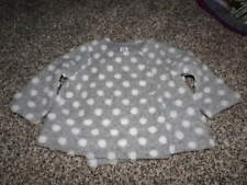 BABY GAP 12-18 GRAY POLKA DOT JACKET COAT