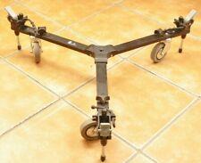 Manfrotto 127 VS / Stativwagen Rollplattform Variabel / Variable Spread Dolly