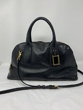 Marc By Marc Jacobs Classic Black Leather Hobo Bag Tote